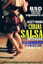 SALSA INICIACIÓN CASINO CURSO 2017-18 EN BSD MÁLAGA CENTRO.