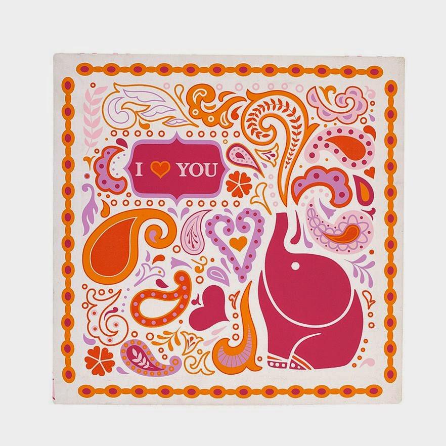Jonathan Adler Elephant Wall Print