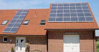 paneles solares en techos