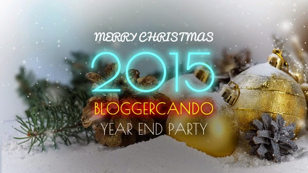 Merry christmas and Happy New Year 2015 - Blogger Can Do Year End Party