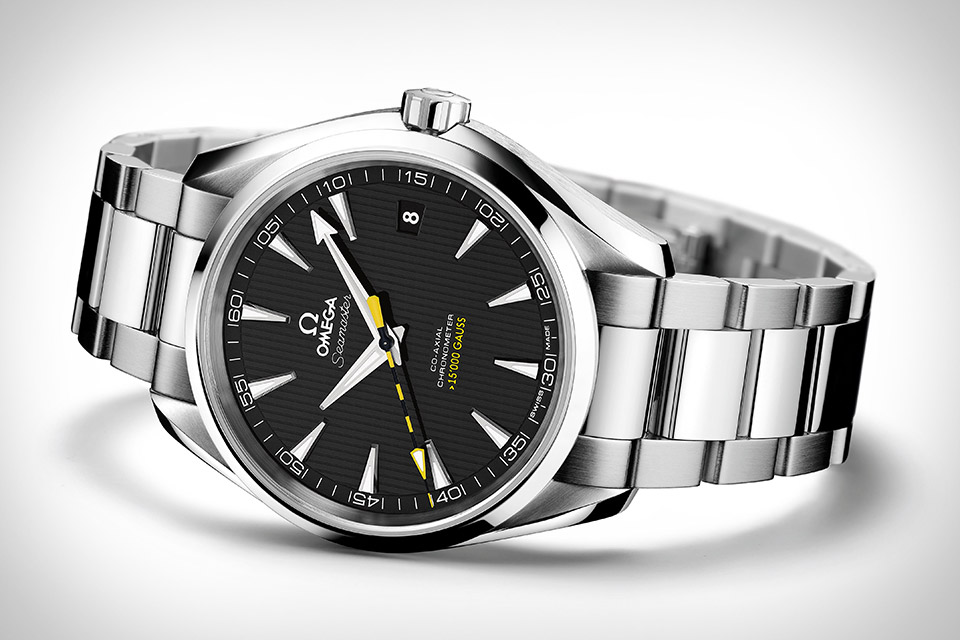 Omega Anti-Magnetic Seamaster Aqua Terra : The Omega Anti-Magnetic Seamaster Aqua Terra Watch takes a different approach. It's powered by the new Omega Co-Axial calibre 8508 movement,
