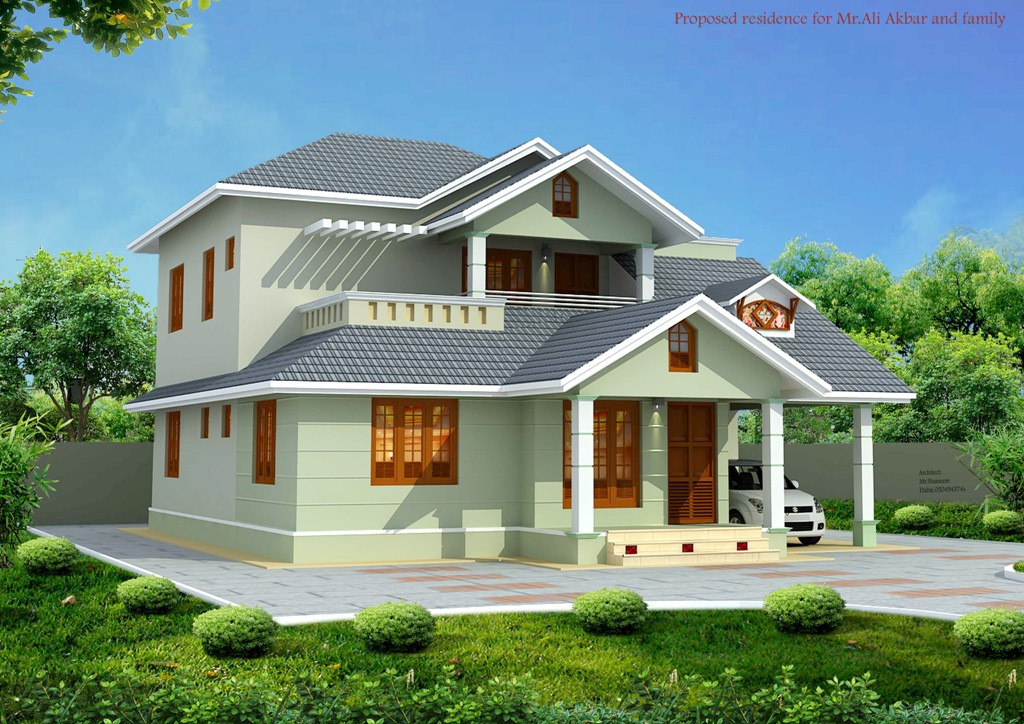 Beautiful House Elevation Designs From Muhammed Shamim