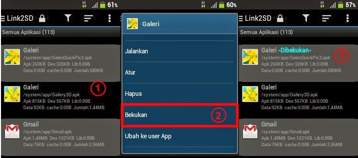 Aplikasi Link2SD Untuk Freeze Aplikasi Android Yang Tidak Terpakai