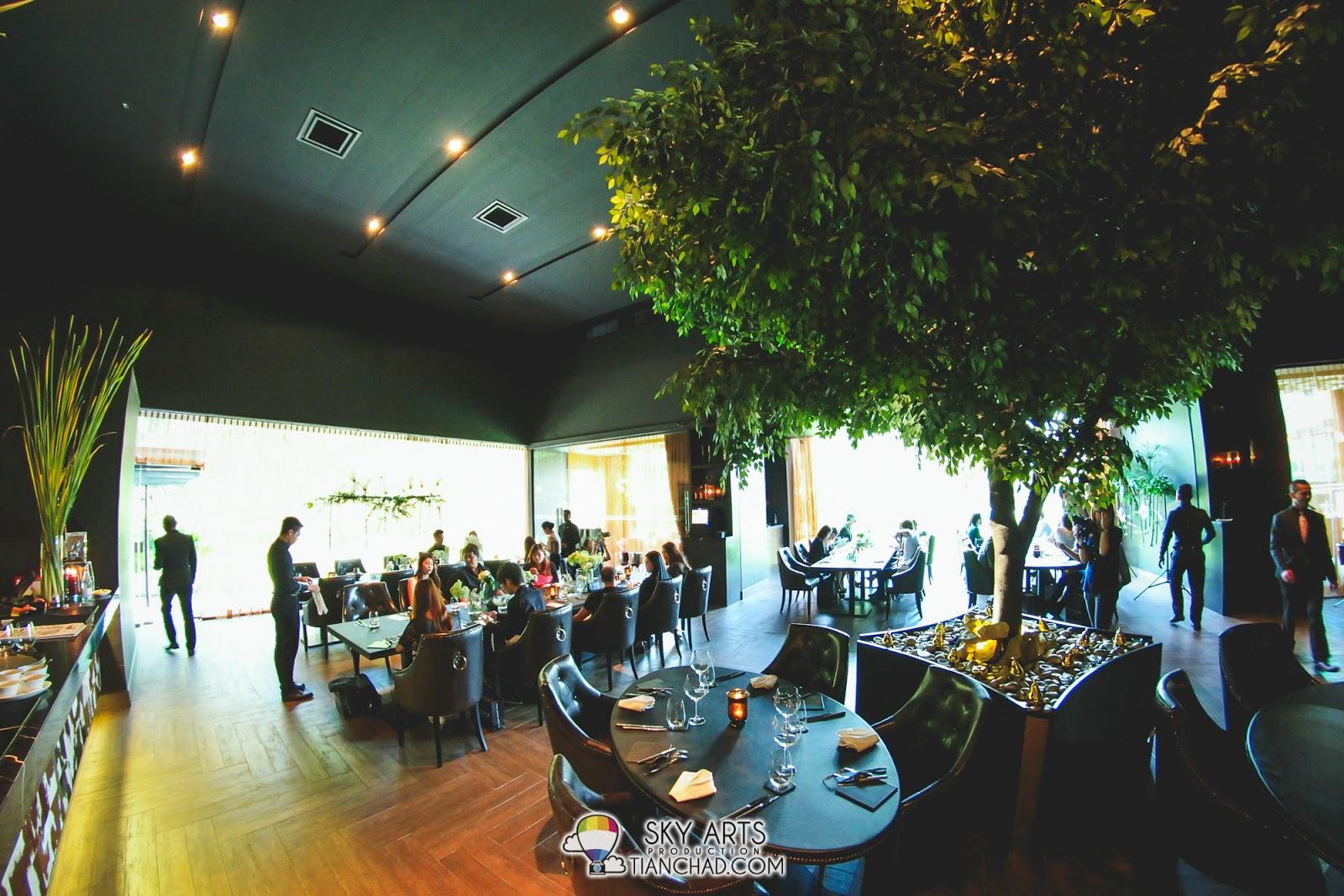 Interior of Marble 8 Restaurant @ Kuala Lumpur