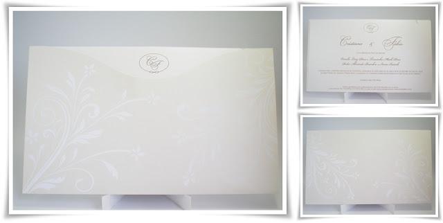 Casamento de Cristiane e Fabio, Modelo Envelope 4.