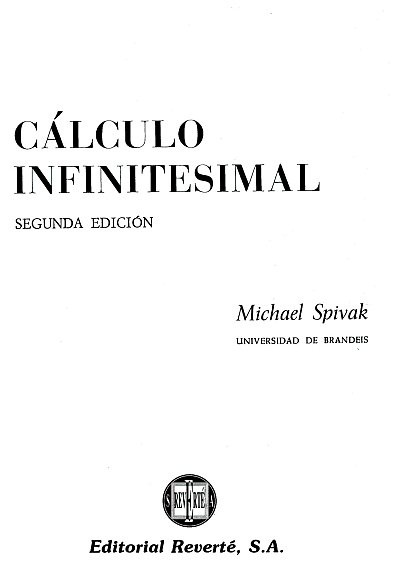 michael spivak calculus 4th edition pdf