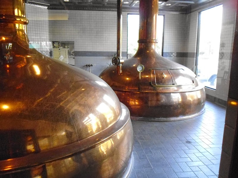 Copper brewhouse