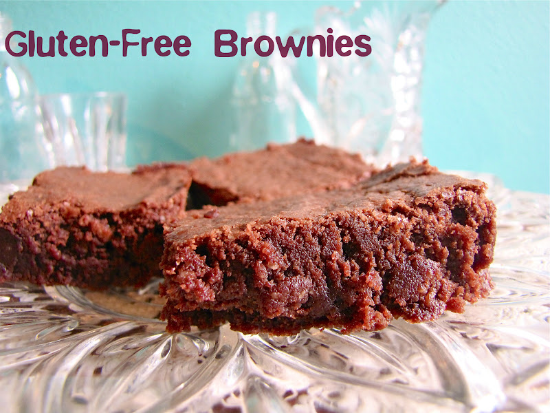 Yesterday I made gluten-free brownies and they were sensational! I ...