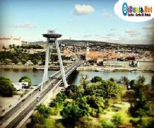 Jembatan UFO, Jembatan Kabel Terpanjang di Dunia