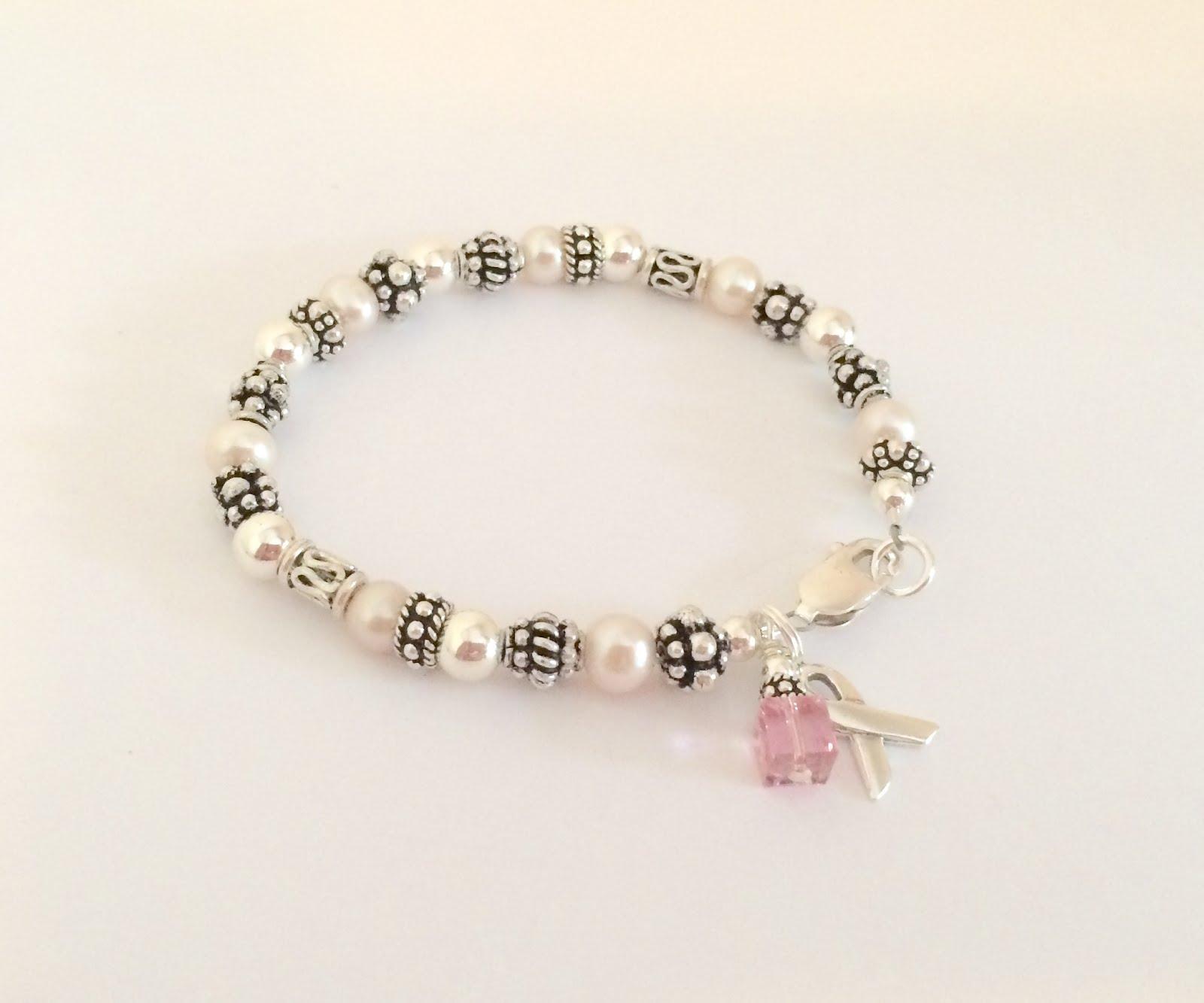 swarovski breast cancer bracelet eBay