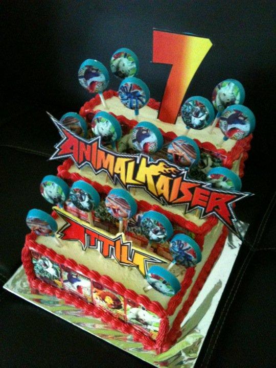 Delicia Cake Pontianak Animal Kaiser Birthday Cake
