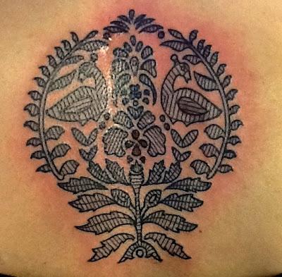 linework; tattoo