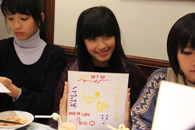 Member JKT48 Favorite Versi Fans Jepang : Member yang udah graduate. Ochi