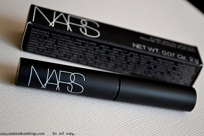 NARS Velvet Matte Lipstick Moscow Summer Makeup 2012 Collection Beauty Blog Reviews Swatches FOTD Looks