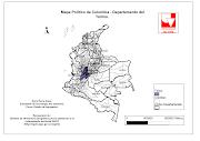 Mapas de los límites del departamento de Córdoba - Colombia. Mapa N°1. mapa colombia cordoba