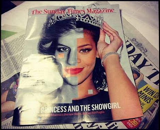 Rihanna compared Princess Diana UK Sunday Times Instagram beautiful hot girl 2013  ebony amateur photo