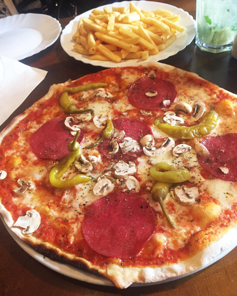 Pizza Kreuzberg Berlin 2015