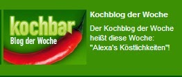 Mein Blog auf Kochbar.de