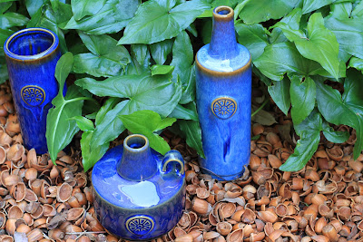 Soholm Pottery and Arisarum proboscideum