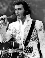 Elvis Presley singing