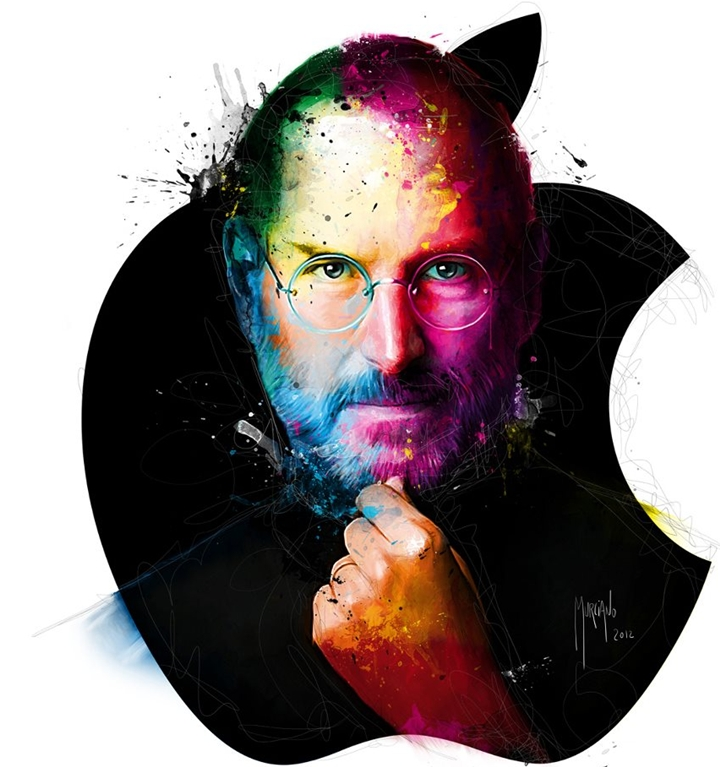 Steve Jobs 1955-2011 | Patrice Murciano 1969 | French Figurative painter | Pop Art portrait