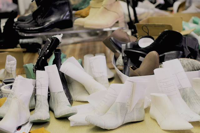 Modern Vice, Made in America, Factory, behind the scenes, Jett Booties, NYC