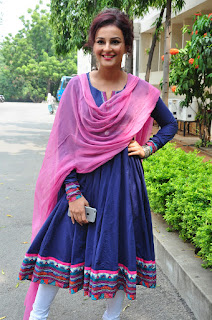SeerathKapoorlooks beautiful in lovely Blue anarkali dress   Pia Trends