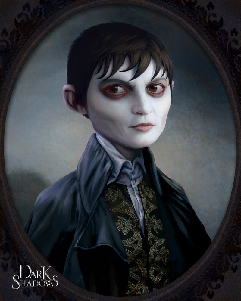 Portrait of Barnabas Collins por nonnahs144