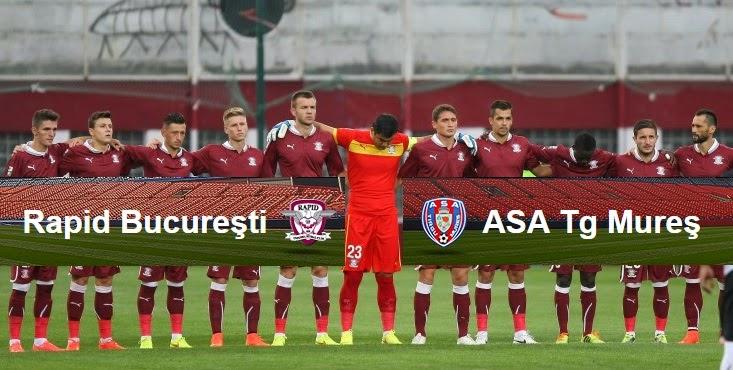 Rapid ASA Târgu Mureş live 8 aprilie 2015 etapa din returul campionatului