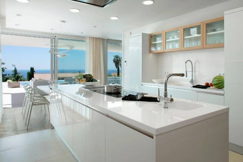 El lujo urban chic mas actual urban chic luxury decor for Muebles cocina para exterior