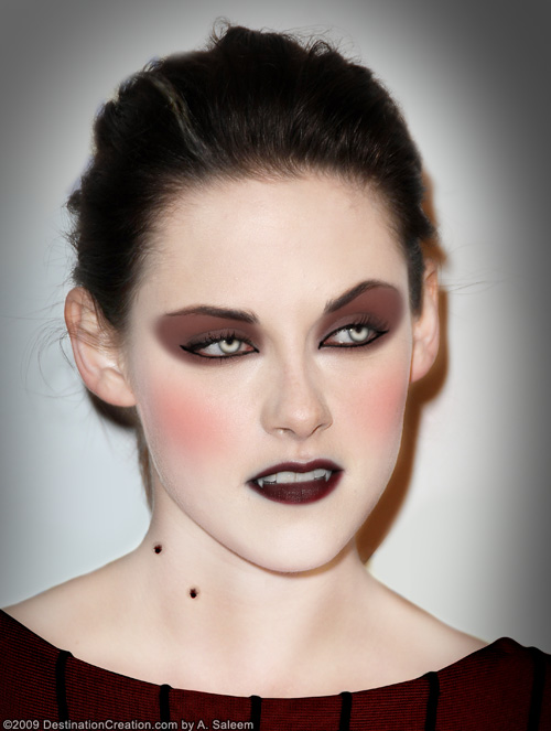 Pretty Vampire Makeup Images u0026 Pictures - Becuo
