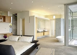 Bathrooms built in bedroom