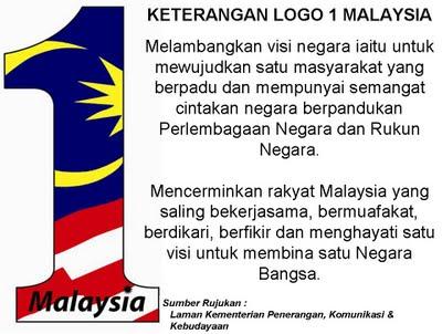 1 Malaysia 2ward Wawasan 2020