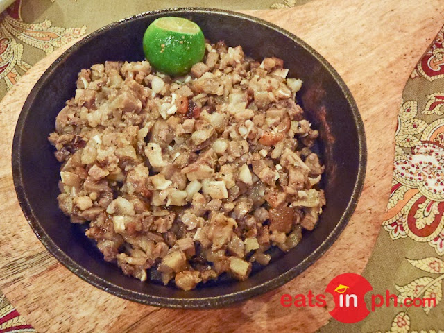 Sisig from Bistro Remedios