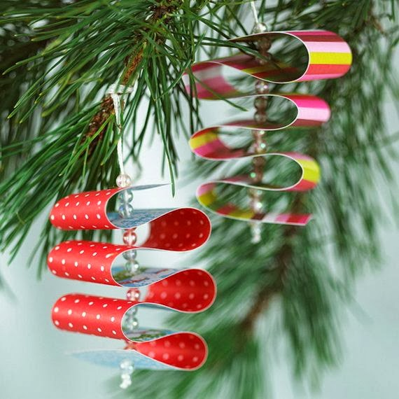 Christmas Decoration Ideas Paper : Attractive paper christmas decorations images
