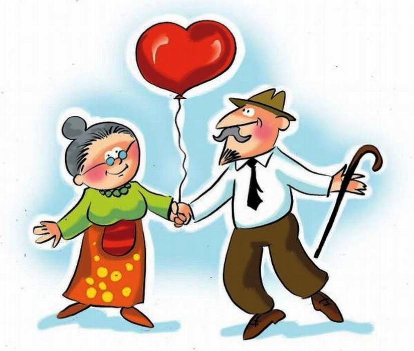 Obraz znaleziony dla: clipart babcia i dziadek