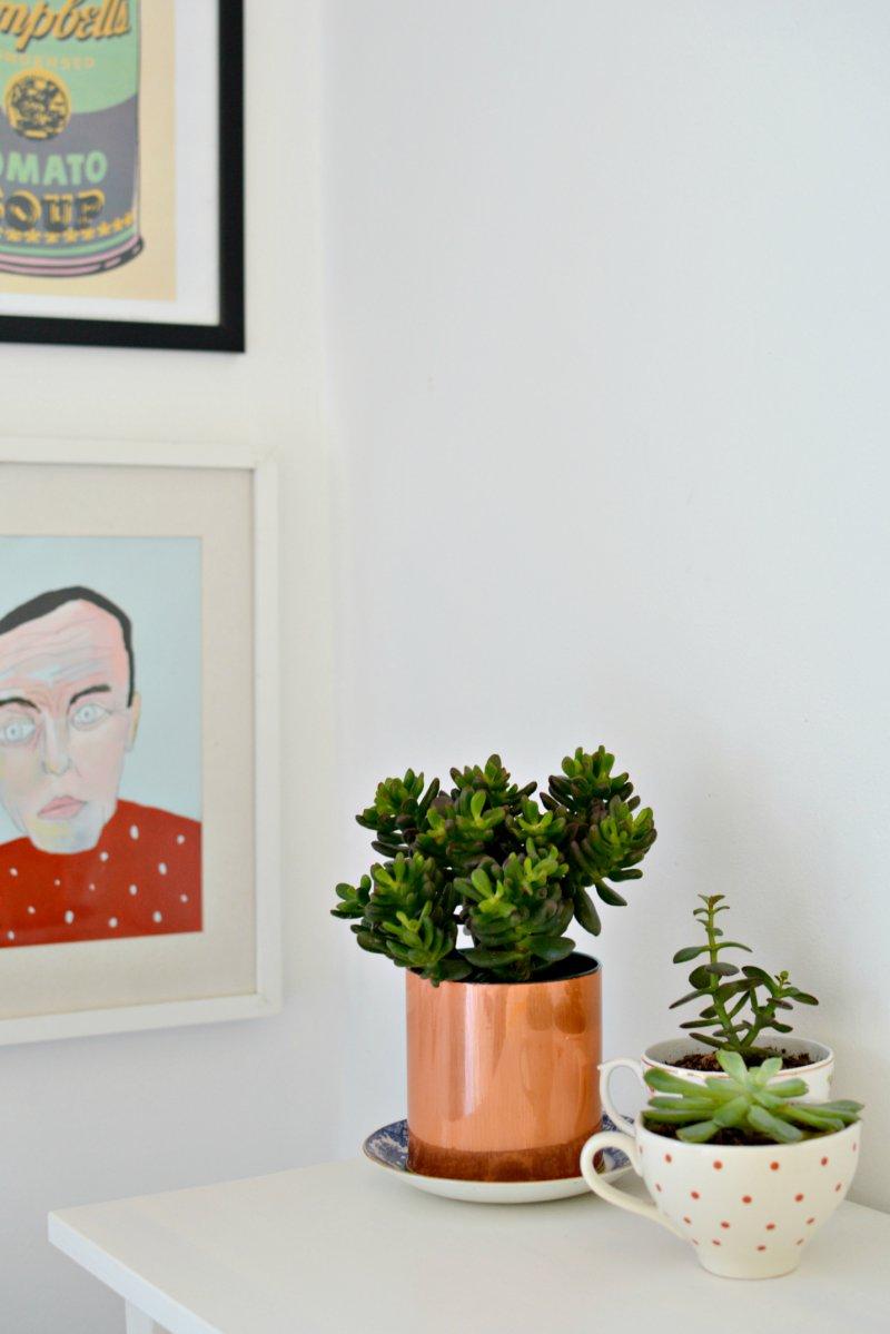 diy | copper planter