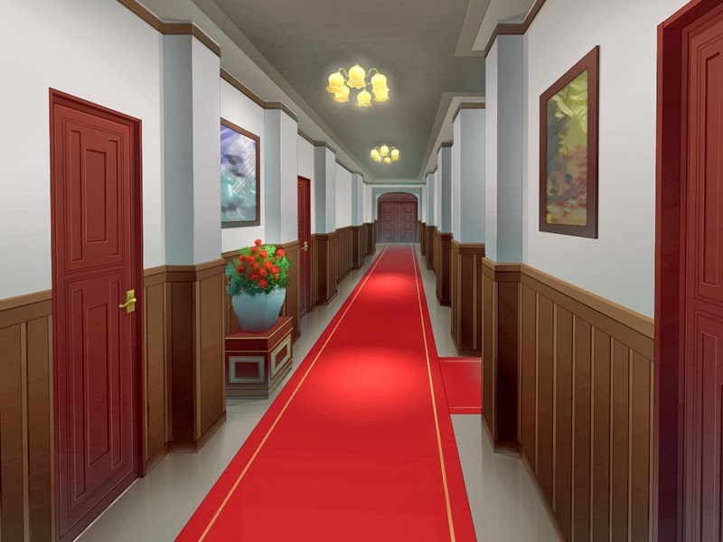 Red Carpet Anime Background