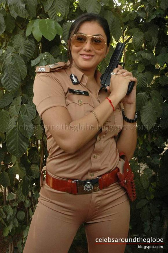 hot anked police girls