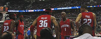 detroit pistons starting five