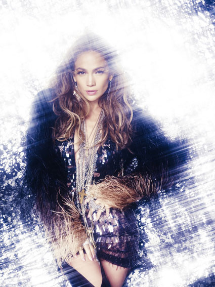 Beauty Jennifer Lopez Hairstyle on What is Love Photoshoot 01
