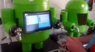 Kegdroid uma chopeira comandada por Android