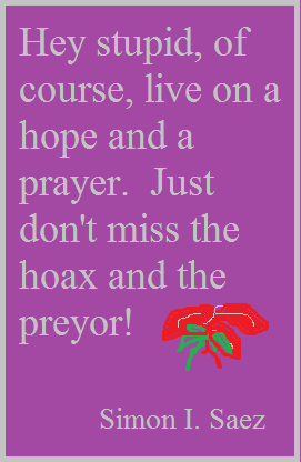 Christmas Hope and Prayer