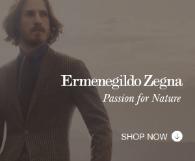 Premier Advertisement...<br>Ermenegildo Zegna
