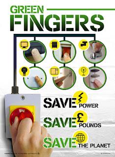 Energy-saving posters