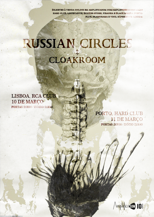 Russian Circles + Cloakroom @ Hard Club