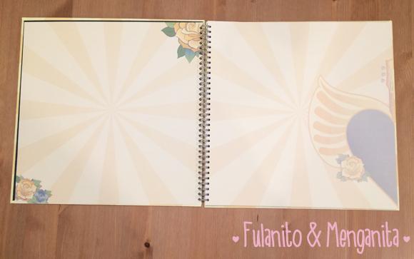 El libro de firmas personalizado inspirado en sus invitaciones de boda