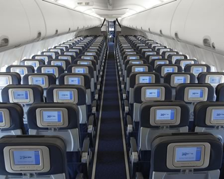 Cool Jet Airlines: Boeing 737-800 interior