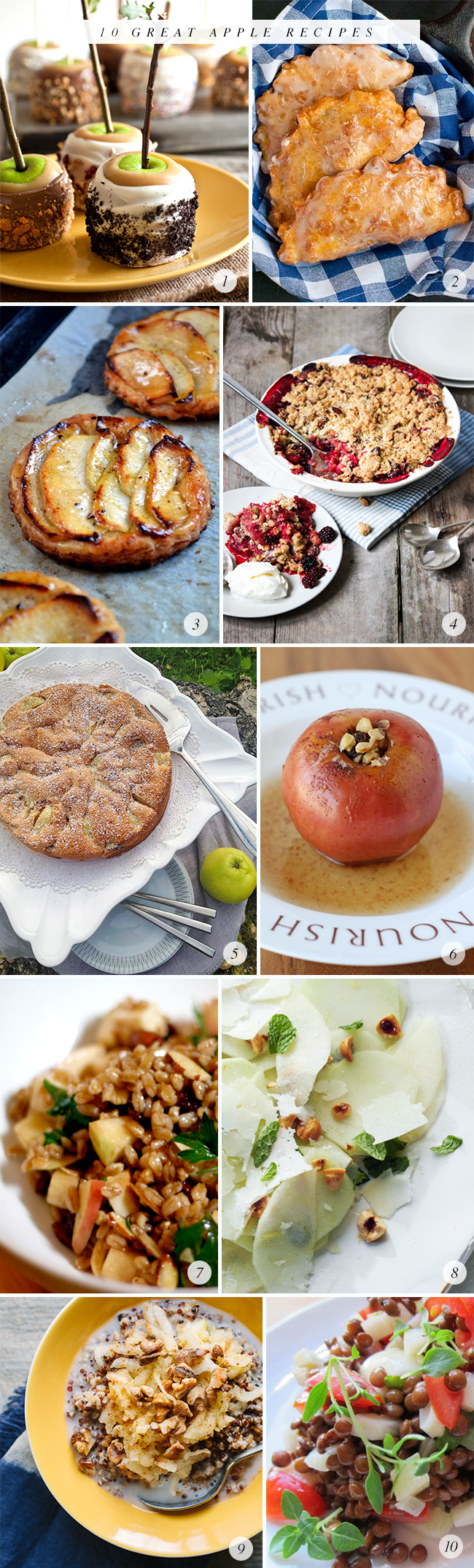 10 Great Apple Recipes (via Bubby and Bean)