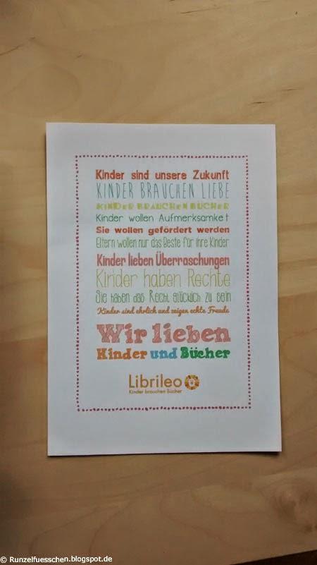 Librileo Buchboxtest  Runzelfuesschen